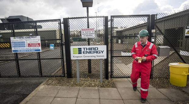 Third Energy will complete five test fracks at Kirby Misperton before the end of the year (Danny Lawson/PA)