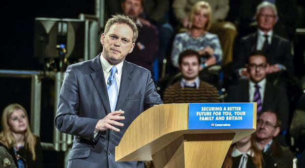 Grant Shapps claimed both Remainers and Brexiteers supported a leadership change (PA)