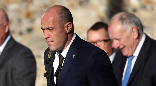 Army sergeant Emile Cilliers denies the charges against him (Andrew Matthews/PA)
