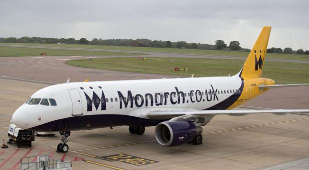 Reforms to avoid a repeat of the Monarch collapse will be considered, Transport Secretary Chris Grayling has said (Steve Parsons/PA)