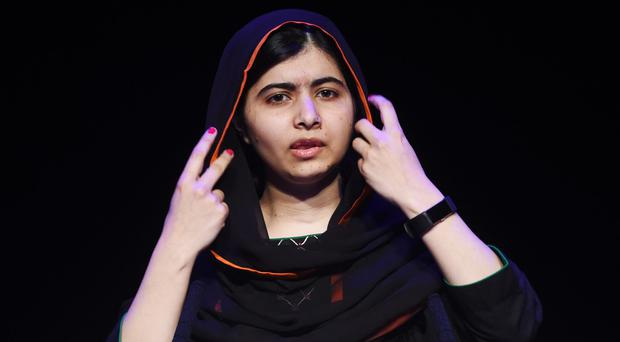Education rights campaigner Malala Yousafzai has attended her first lecture at the University of Oxford (Joe Giddens/PA)