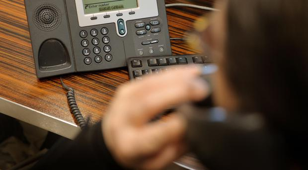 The PSNI in Ards has warned locals of a scammer calling up older people and claiming to be from HMRC / Credit: PA