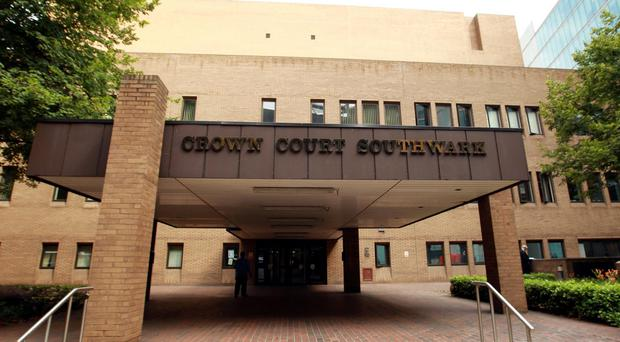 General views of Southwark Crown Court in south London. (Sean Dempsey/PA)