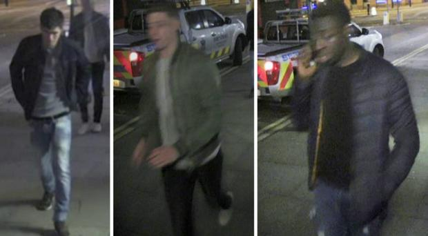Police have released images of the horrific injuries suffered by a man in an