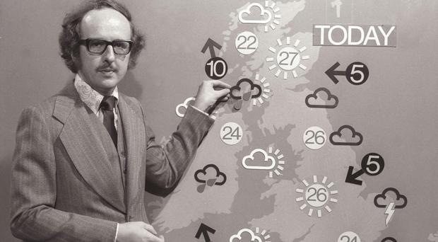 Michael Fish failed to predict the Great Storm of 1987 (BBC)