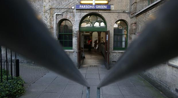 Parsons Green station in west London which has re-opened after a bomb was detonated on a London Underground train (Jonathan Brady/PA)