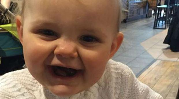 Elsie Scully-Hicks, whose adoptive father Matthew Scully-Hicks is on trial accused of her murder (South Wales Police/PA)