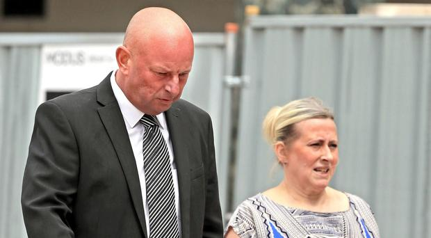 Paul Roberts and Deborah Briton have been jailed for making fake holiday sickness claims in a landmark case (Peter Byrne/PA)