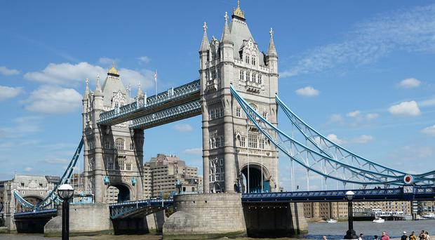 City of London police released a picture of the man last seen on Tower Bridge (PA)