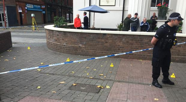 A 19-year-old man is in a critical condition after fighting broke out outside a boxing venue (Richard Vernalls/PA)