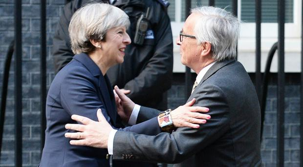 Theresa May is heading to Brussels on Monday for Brexit talks with European Union chiefs (John Stillwell/PA)