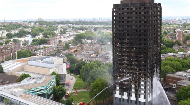 Around 80 people died in the Grenfell Tower blaze on June 14 (Rick Findler/PA)