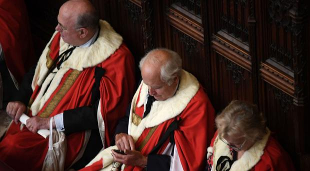 House of Lords proposals could limit new peers to 15-year term (Carl Court/PA)