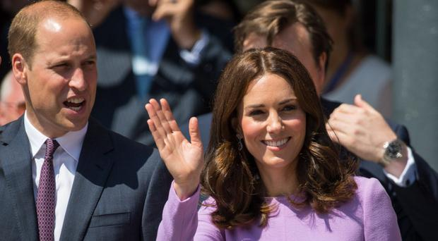 William and Kate to visit Norway and Sweden in 2018 (Dominic Lipinski/PA)