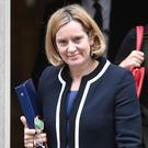 The Home Secretary said no deal would be unthinkable (Victoria Jones/PA)