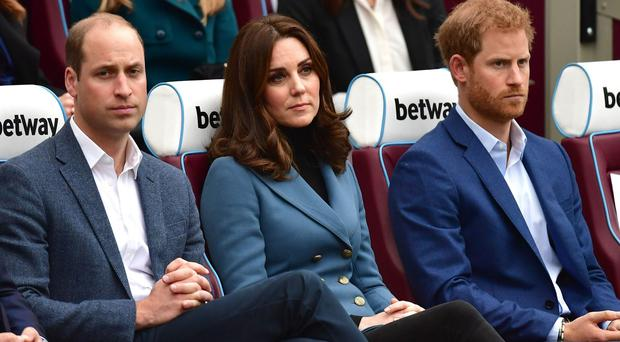 West Ham try to score royal following with George and Charlotte football shirts (Dominic Lipinski/PA)