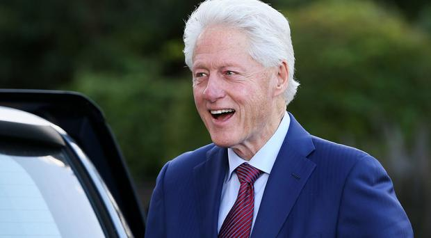 Bill Clinton to discuss Northern Ireland in meeting with Theresa May (Brian Lawless/PA)
