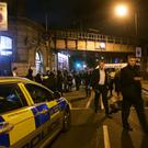 Boy, 16, charged with murder over stabbing outside Parsons Green Tube station (Yui Mok/PA)