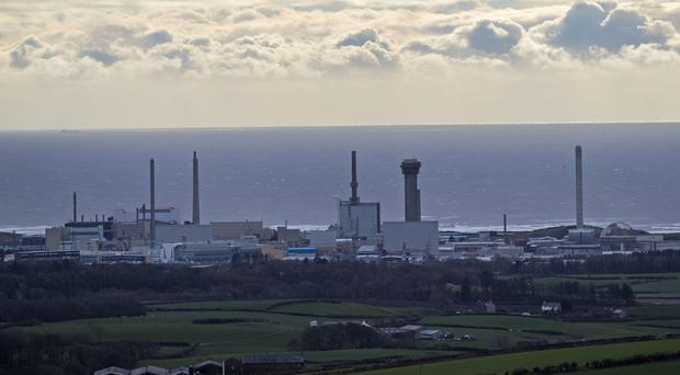 Members of the GMB at Sellafield will walk out for 12 hours (Peter Byrne/PA)
