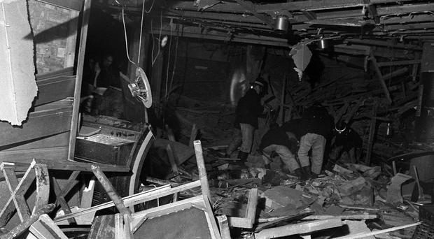 The IRA planted two bombs in 1974 which ripped through the Tavern in the Town and nearby Mulberry Bush pubs (PA)