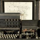 A UK Typex machine is on display at the Codebreakers and Groundbreakers' exhibition (The Fitzwilliam Museum/PA)