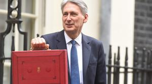 The Chancellor will announce the Budget on November 22 (Lauren Hurley/PA)