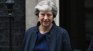 Theresa May refuses to rule out 'no deal' option in Brexit strategy (Stefan Rousseau/PA/)