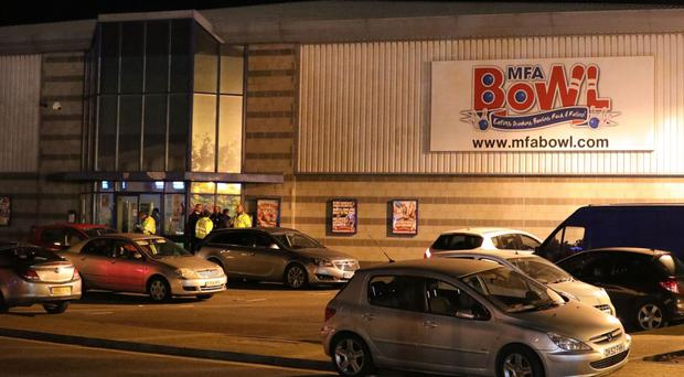 Police quiz suspected hostage-taker after bowling alley gun siege (Aaron Chown/PA)