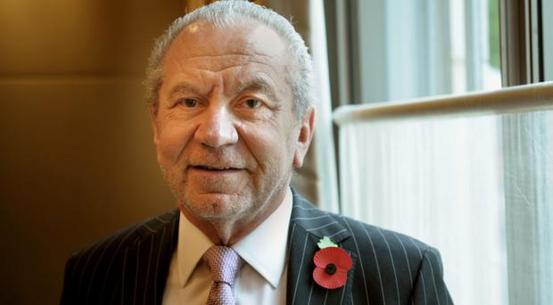 Lord Sugar not convinced by British Brexit negotiators (Anthony Devlin/PA)