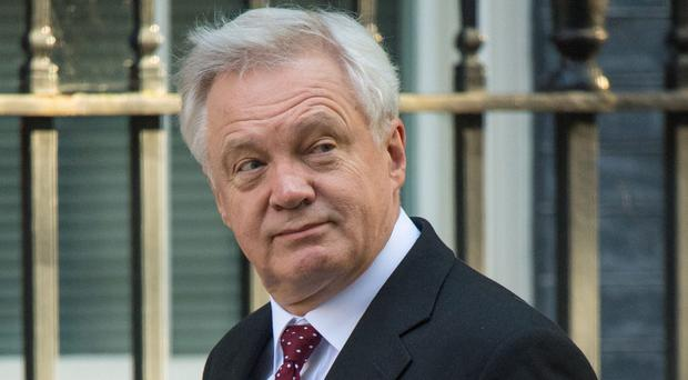 David Davis will appear before the Commons Exiting the EU select committee (Dominic Lipinski/PA)