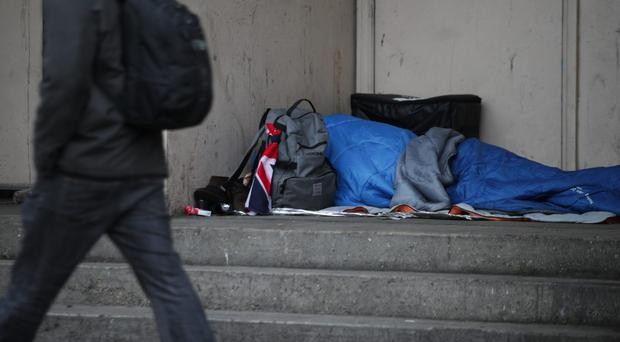 MPs exchange views on state of homelessness in Birmingham (Yui Mok/PA)