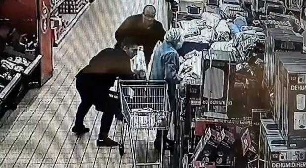 CCTV still showing the theft (West Mercia Police/PA)
