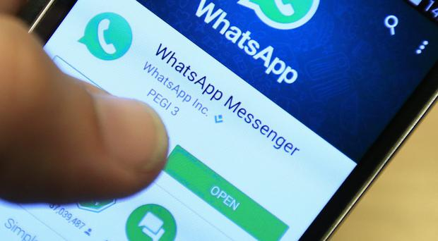 The comments came amid reports staff had raised concerns about abuse in a WhatsApp group (Jonathan Brady/PA)