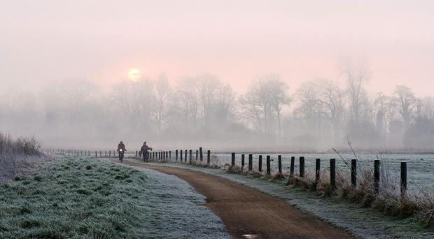 The cold snap will thaw slightly by Tuesday (Neil Squires/PA)