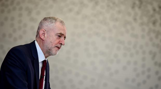 Jeremy Corbyn's Labour Party is losing support among low-income voters, research suggests (Ben Birchall/PA)