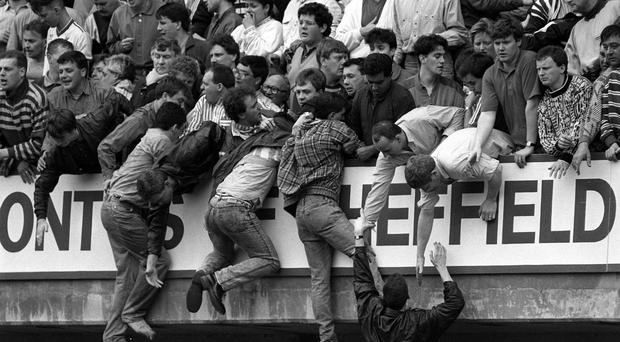 Ninety-six Liverpool FC fans died at the 1989 FA Cup semi-final in 1989 (David Giles/PA)