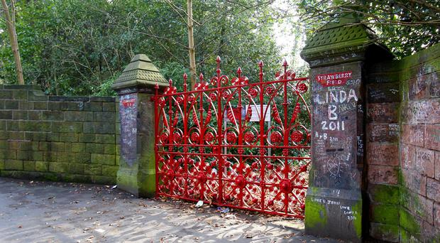 Former children's home Strawberry Field, in Woolton, Liverpool, inspired the Beatles song Strawberry Fields Forever (Peter Byrne/PA)