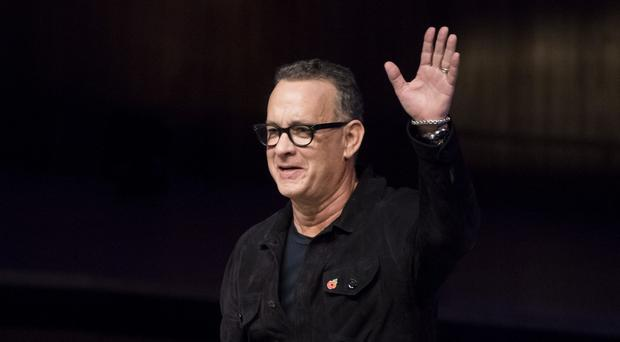 Tom Hanks has launched a literary career with Uncommon Type (Ben Stevens/PA)