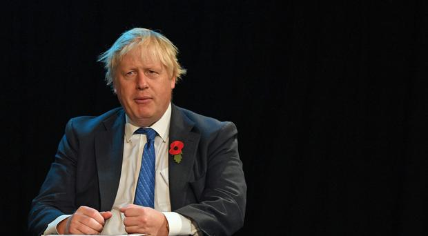 Boris Johnson hailed his former Cabinet colleague (Stefan Rousseau/PA)