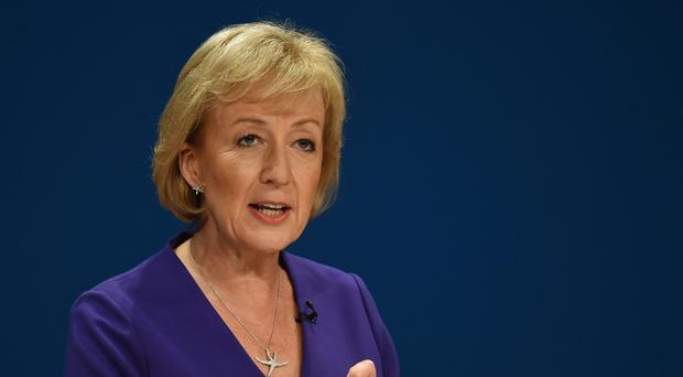 A newspaper report said Andrea Leadsom accused Sir Michael Fallon of a string of inappropriate remarks (Joe Giddens/PA)