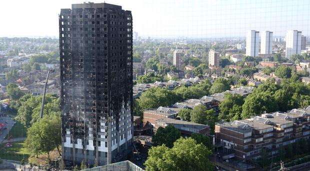 More than 80 people were killed in the Grenfell Tower blaze (Rick Findler/PA)