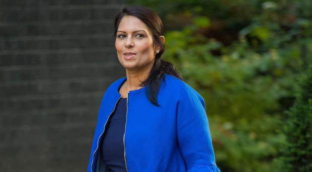 Priti Patel met Israeli public security minister Gilad Erdan in Parliament on September 7 and foreign ministry official Yuval Rotem in New York on September 18 (Dominic Lipinski/PA)