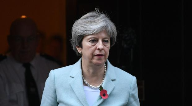 Critics say events since the June election have exposed Theresa May's weakness and inability to impose authority on a fractious and divided Government (Stefan Rousseau/PA)