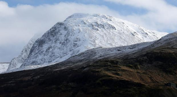 Operation Weather Rescue: Ben Nevis launched in September (Andrew Milligan/PA)