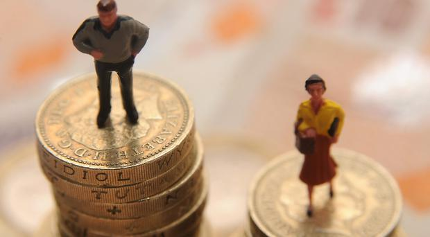 The Fawcett Society warned that the gender pay gap is widening (Joe Giddens/PA)