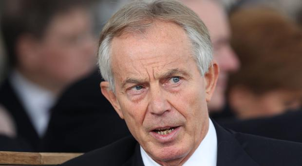 Tony Blair said he had been a family man during his time in Parliament (Jonathan Brady/PA)