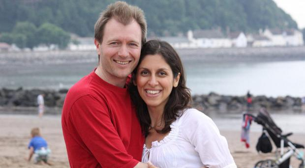 Richard Ratcliffe is campaigning for the release of his wife, Nazanin Zaghari-Ratcliffe (Family handout/PA)