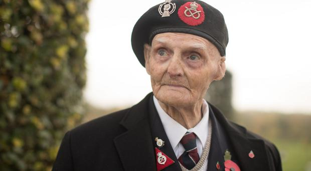 Les Cherrington, 99, described his Second World War ordeal (Aaron Chown/PA)