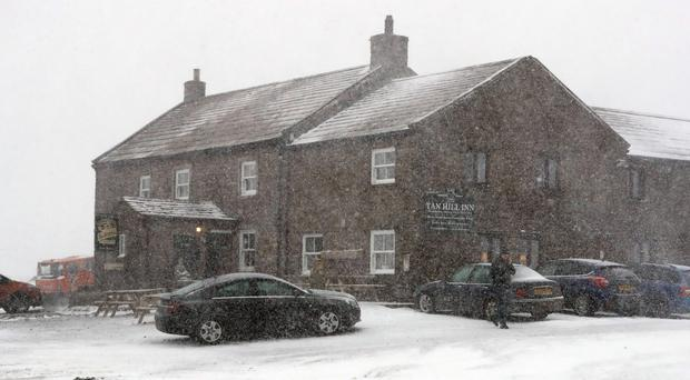 The Tan Hill Inn in Swaledale, North Yorkshire. (Owen Humphreys/PA)
