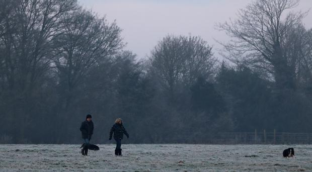 Forecasters have predicted freezing temperatures in the coldest night of autumn (Andrew Matthews/PA)